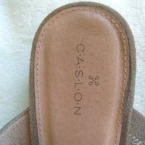 Caslon Shoes - Caslon Jaxon Mule Slide Bronze Leather Pointy Toe